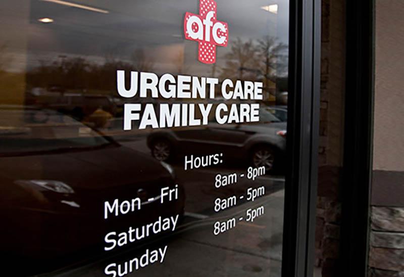 AFC Urgent Care Hours