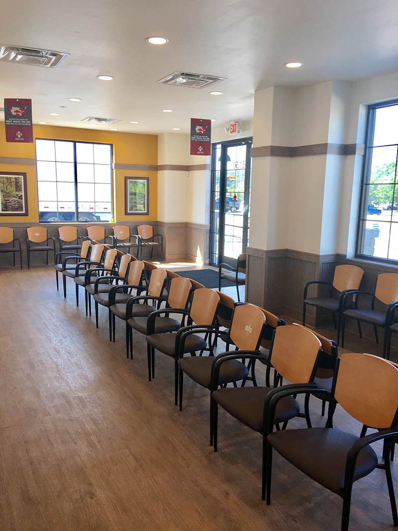 AFC Urgent Care Waiting Room