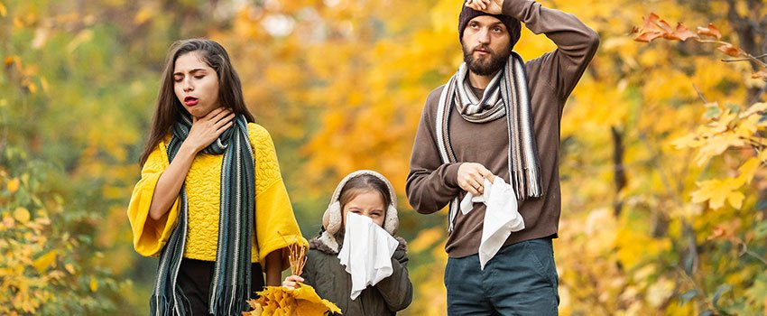 Do Allergies Happen in the Fall, Too?